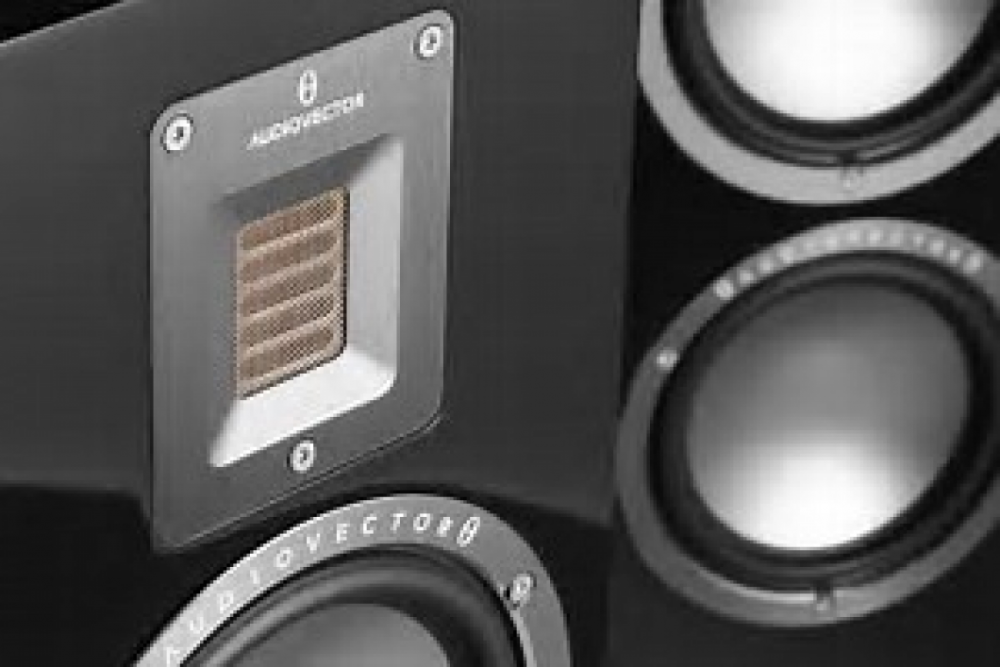 Audiovector QR C QR C High Gloss Svart