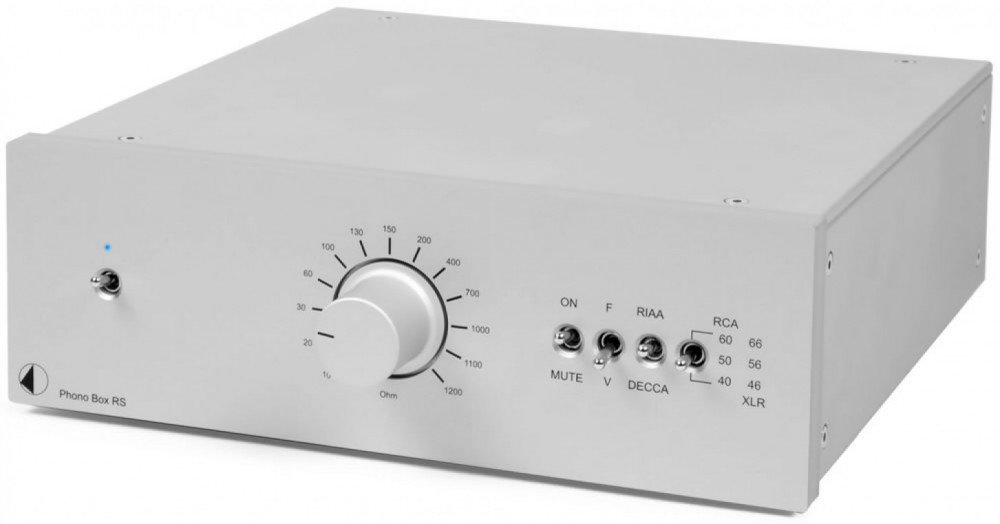 Pro-Ject Phono Box RS Phono Box RS Silver