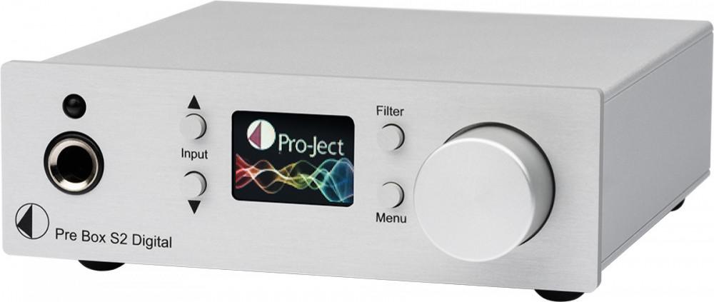 Pro-Ject Pre Box S2 Digital Pre Box S2 Digital Silver