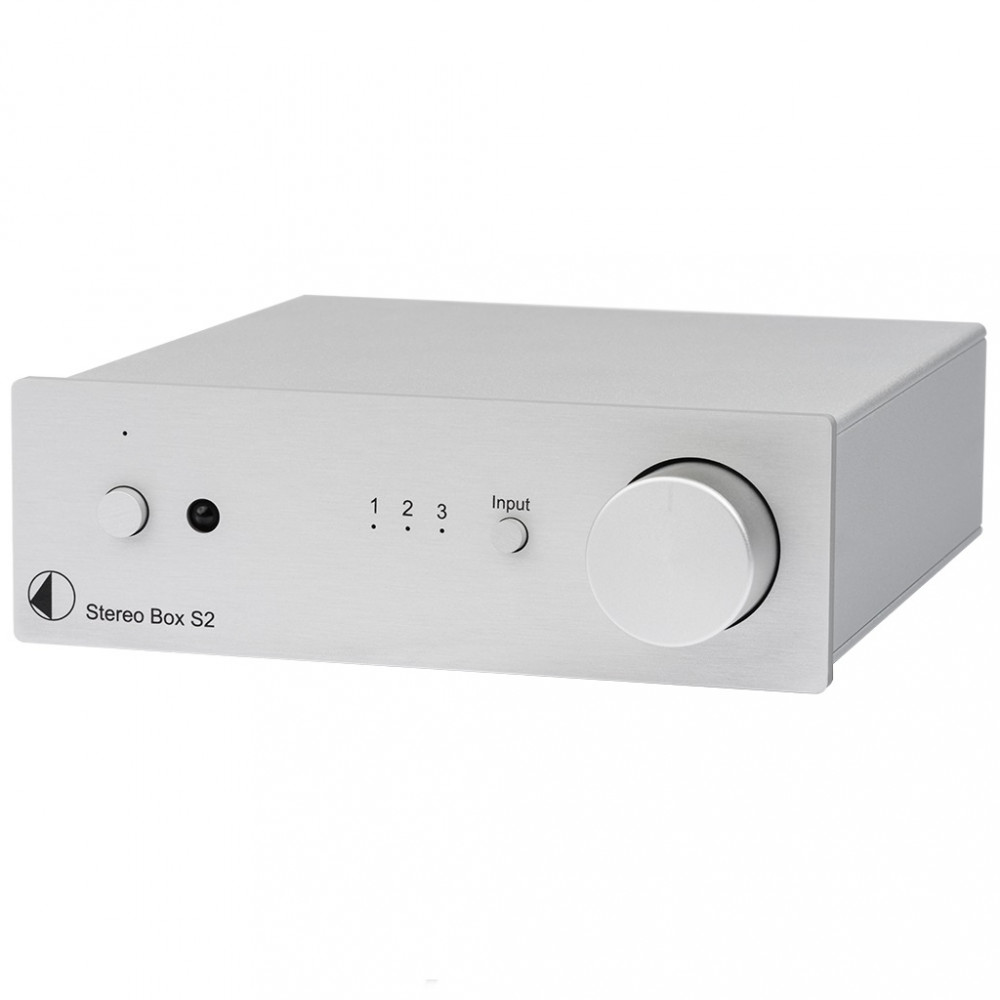 Pro-Ject Stereo Box S2 Stereo Box S2 Silver