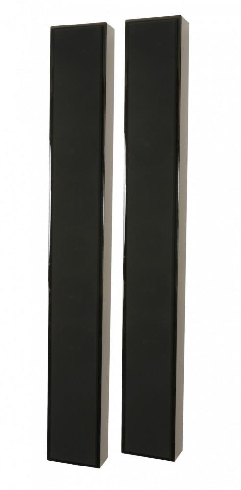 DLS Flatbox Slim XL Flatbox XL Slim High Gloss Svart