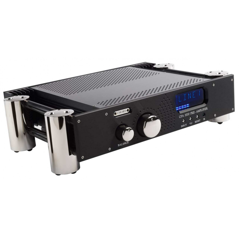 Chord Electronics CPA 3000 CPA 300 Svart